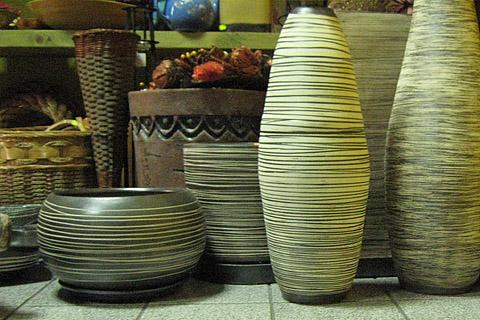 Магазин за цветя и керамика
