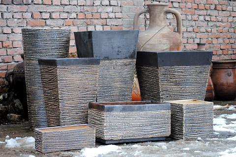 Керамични съдове за декорация